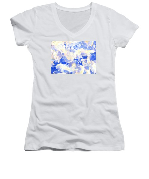 Jellyfish Jubilee Women's V-Neck (Athletic Fit)