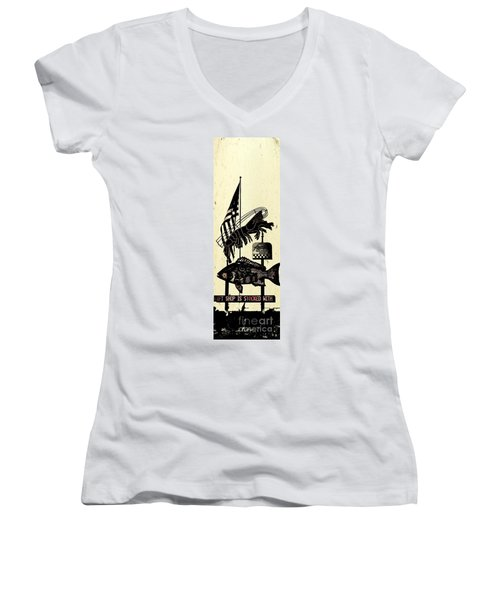 Joe Patti Women's V-Neck T-Shirt
