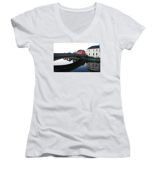 Kilkenny Women's V-Neck T-Shirt (Junior Cut) by Mary Carol Story