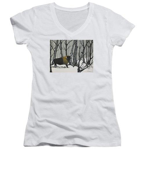King Of The Woods Women's V-Neck T-Shirt