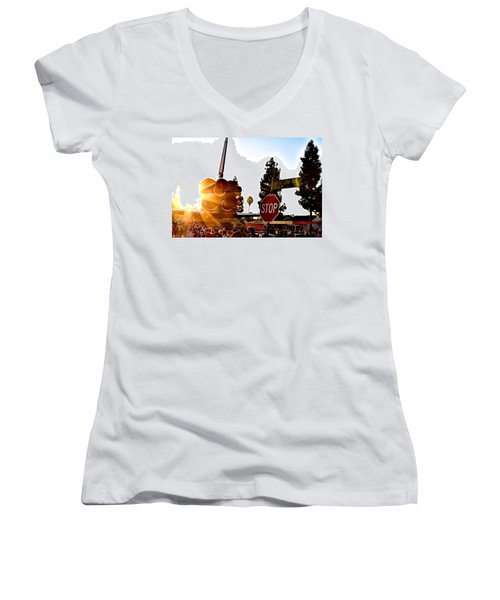 King's Endeavour Women's V-Neck T-Shirt