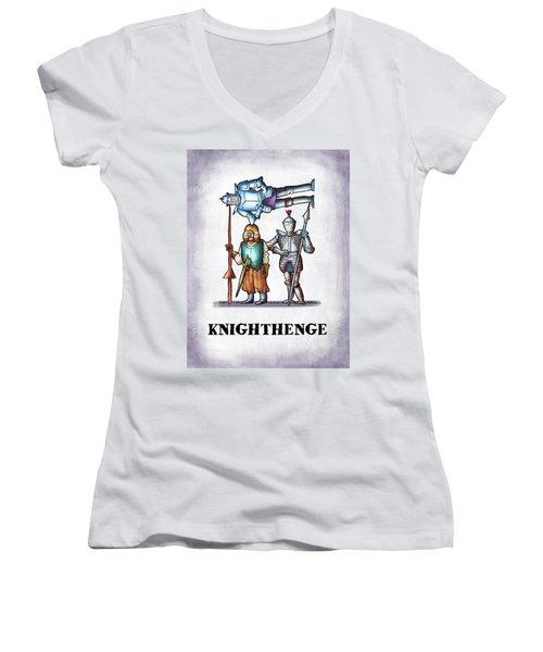 Knighthenge Women's V-Neck
