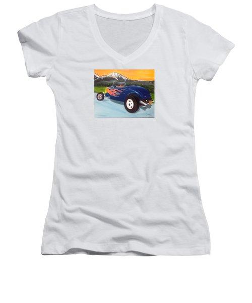 Kool 33 Women's V-Neck T-Shirt