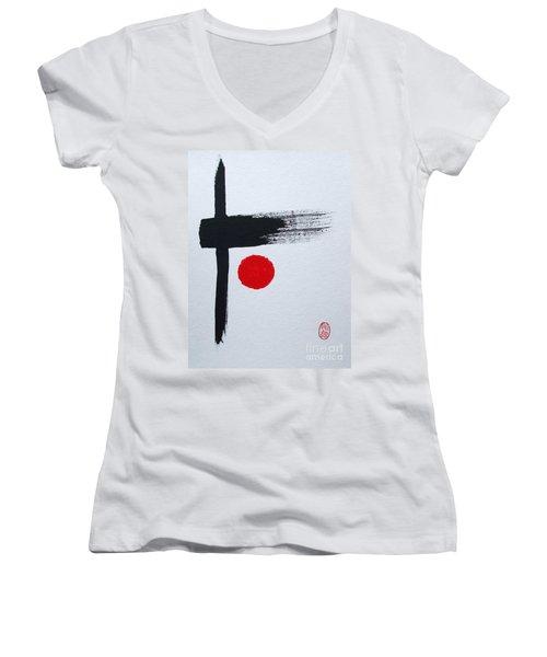 Kyosaku Women's V-Neck (Athletic Fit)