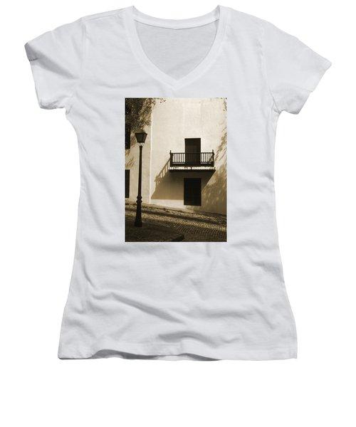La Caleta Women's V-Neck T-Shirt