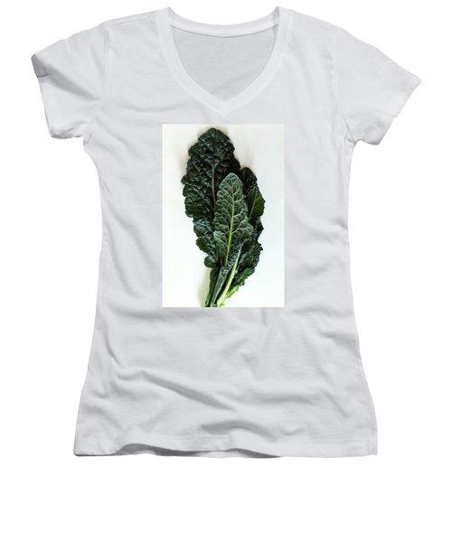 Lacinato Kale Women's V-Neck