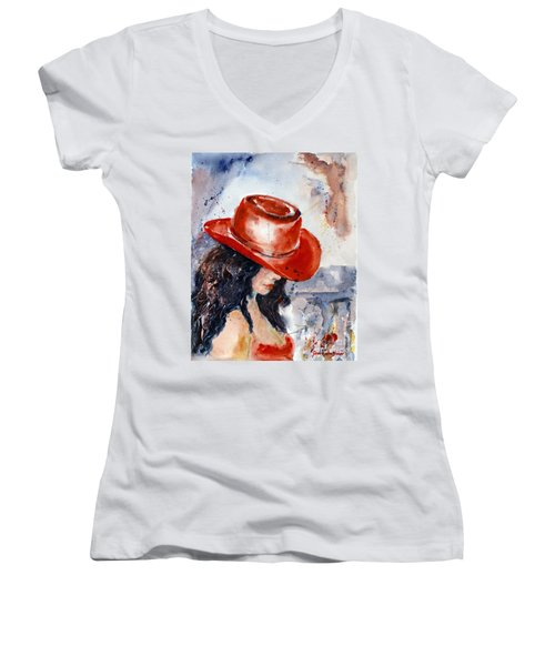 The Red Hat Women's V-Neck