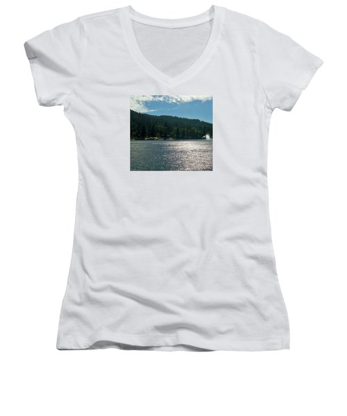 Lake Gregory Women's V-Neck (Athletic Fit)