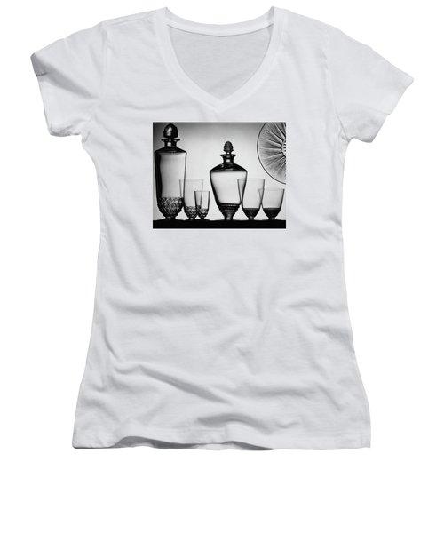 Lalique Glassware Women's V-Neck