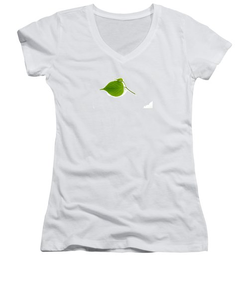 Leaf Women's V-Neck
