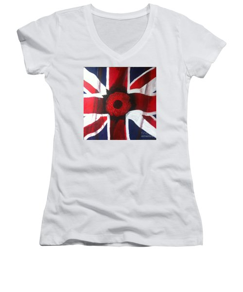 Lest We Forget Women's V-Neck T-Shirt