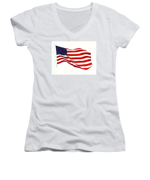 Let Freedom Reign Women's V-Neck T-Shirt