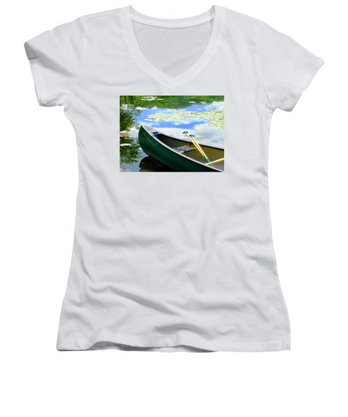 Let's Go Out In The Old Town Women's V-Neck
