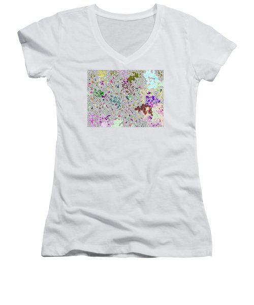 Life 'n Flux Women's V-Neck T-Shirt (Junior Cut) by Joseph Baril
