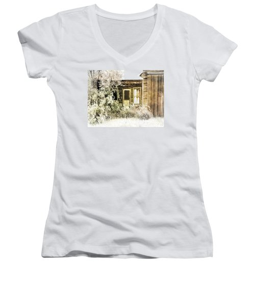 Washed Out Women's V-Neck T-Shirt