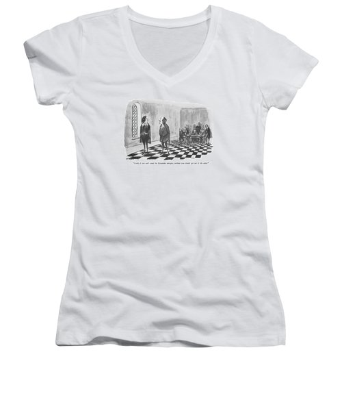 Look, If You Can't Stand The Byzantine Intrigue Women's V-Neck