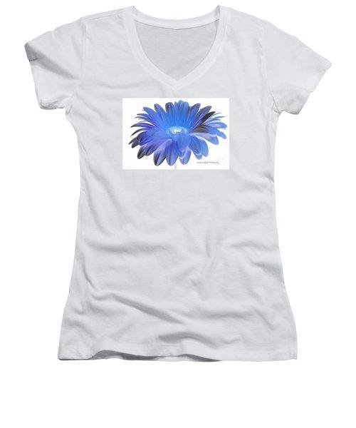 Women's V-Neck T-Shirt (Junior Cut) featuring the digital art Love Is A Gift by Jeannie Rhode