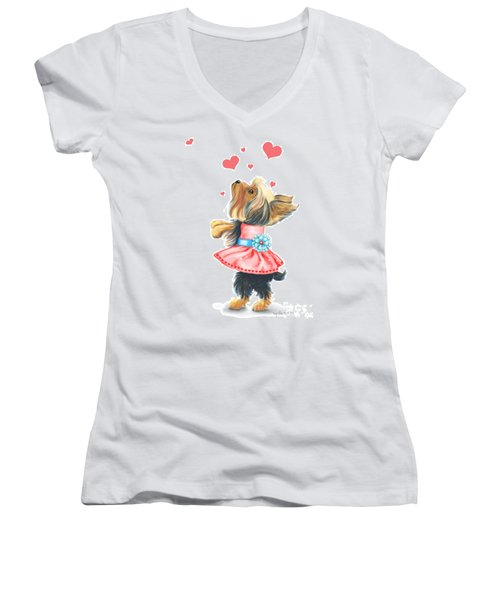 Love Without Ends Women's V-Neck