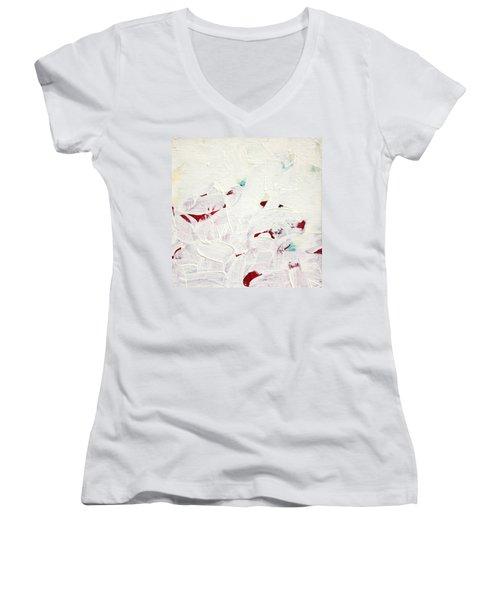 Luminous  C2013 Women's V-Neck T-Shirt (Junior Cut) by Paul Ashby