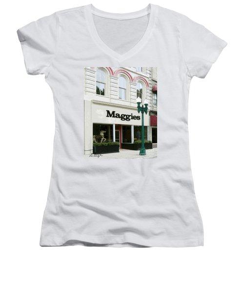 Maggie's Women's V-Neck