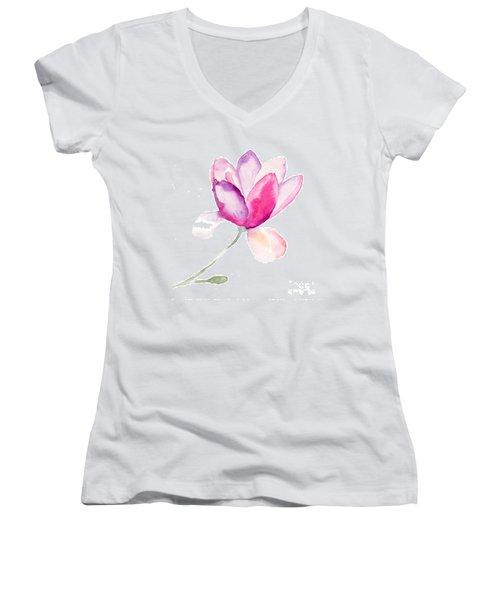 Magnolia Women's V-Neck T-Shirt