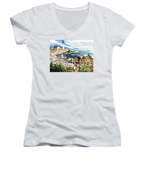 Maine Attraction Women's V-Neck T-Shirt