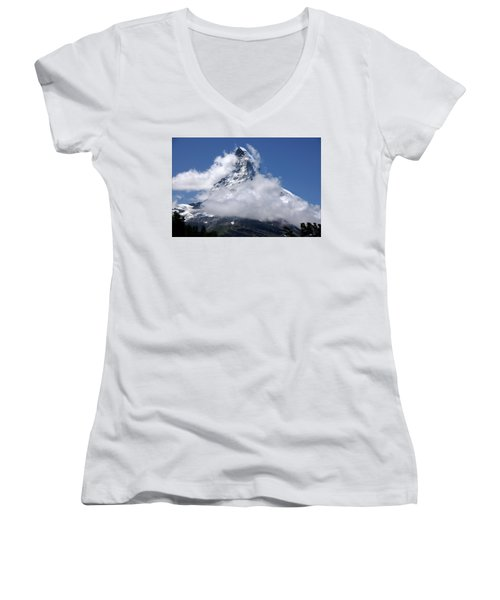 Majestic Mountain  Women's V-Neck