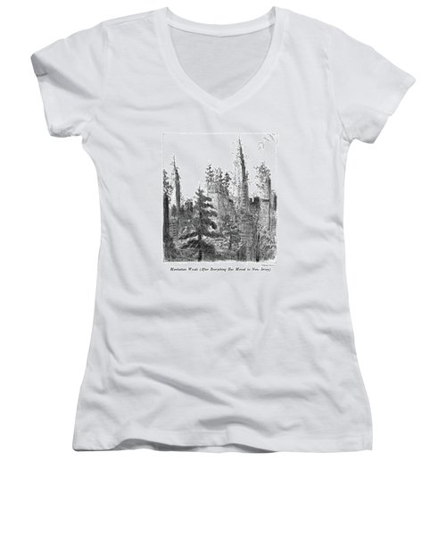 Manhattan Woods Women's V-Neck