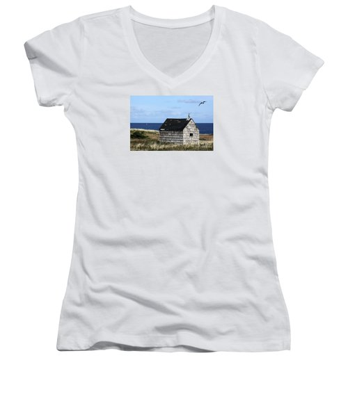 Maritime Cottage Women's V-Neck