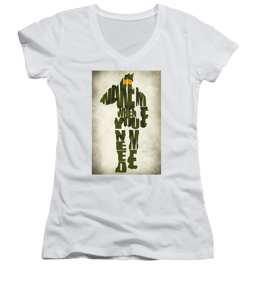 Master Chief Women's V-Neck T-Shirt