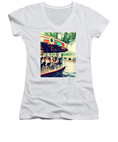 Memories Women's V-Neck (Athletic Fit)