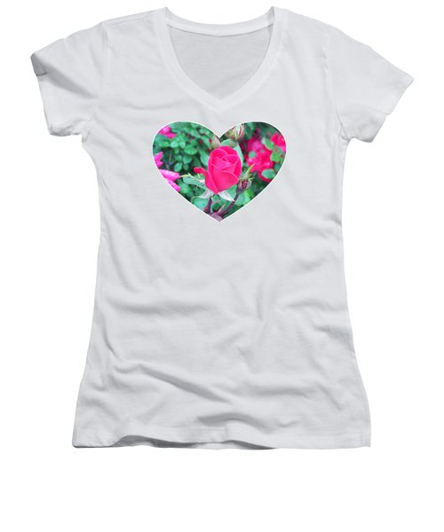 Memory Of A Mother's Love  Women's V-Neck (Athletic Fit)