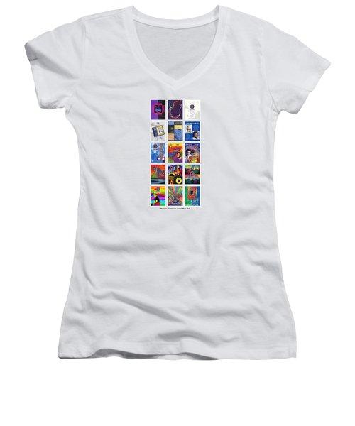 Posters Of Music Women's V-Neck T-Shirt
