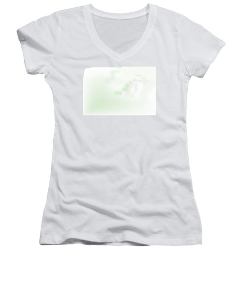Monastery Women's V-Neck T-Shirt (Junior Cut) by Kevin McLaughlin