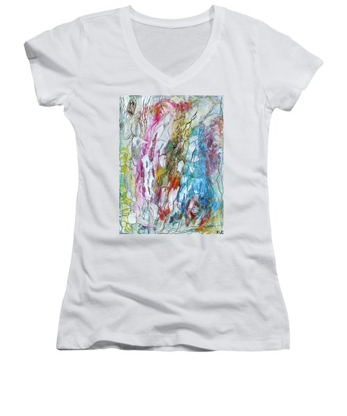 Monet's Garden Women's V-Neck