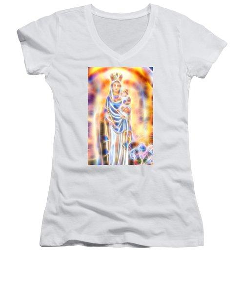 Mother Of Light Women's V-Neck T-Shirt