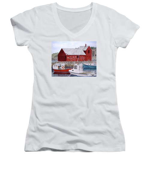 Motif No 1 Women's V-Neck T-Shirt (Junior Cut)