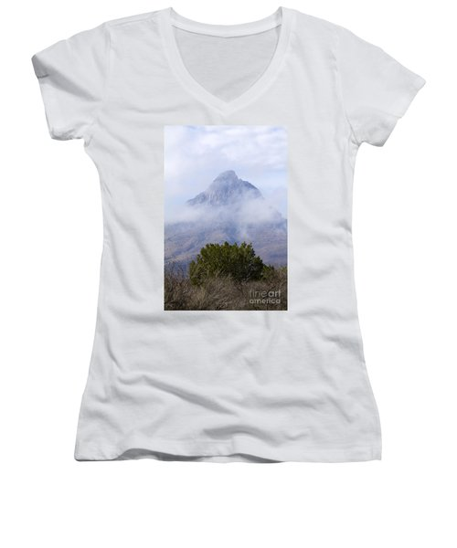Mountain Cloaked Women's V-Neck T-Shirt