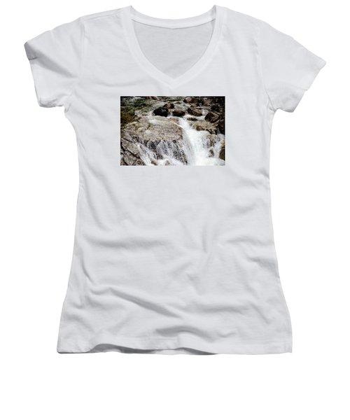 Backroad Waterfall Women's V-Neck