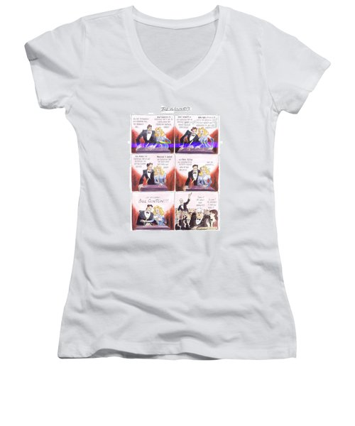 New Yorker March 24th, 1997 Women's V-Neck T-Shirt