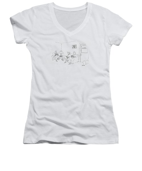 New Yorker May 12th, 1997 Women's V-Neck T-Shirt
