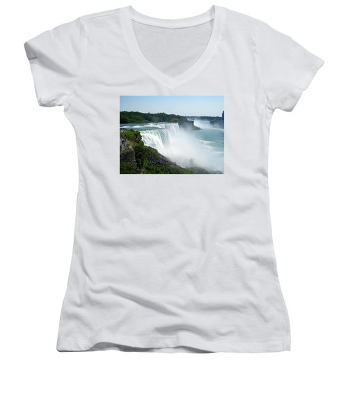 Niagara Falls Women's V-Neck T-Shirt