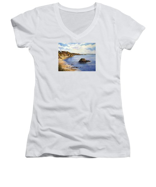 North Beach  Tenby Women's V-Neck (Athletic Fit)