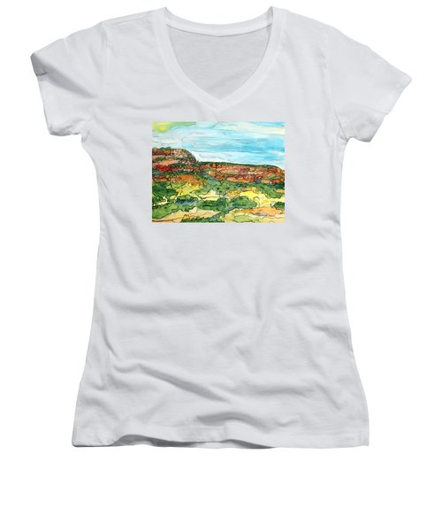 North Mesa Women's V-Neck T-Shirt