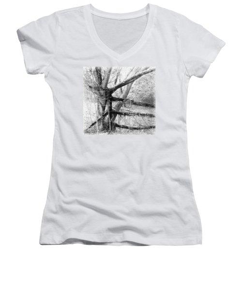 Not So Long Ago Women's V-Neck T-Shirt