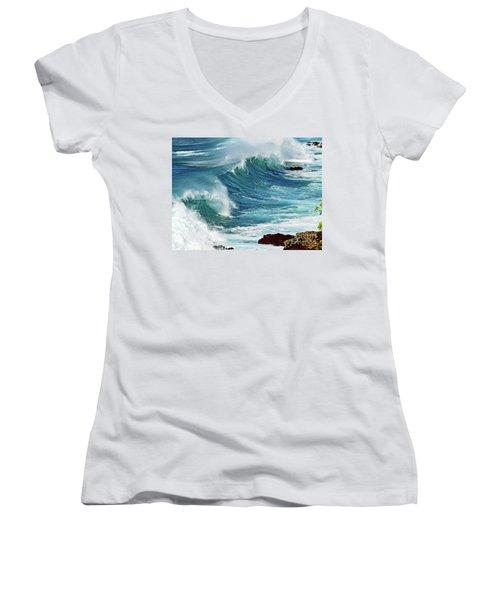 Ocean Majesty Women's V-Neck