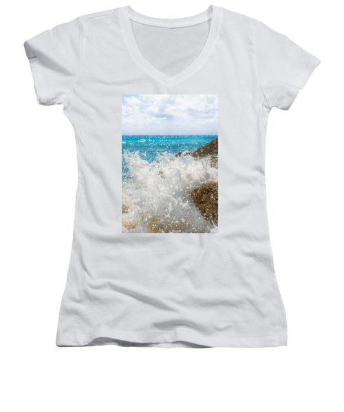 Ocean Spray Women's V-Neck
