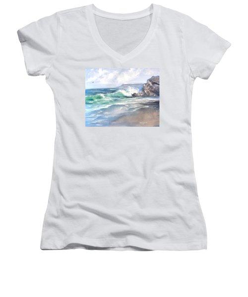 Ocean Surf Women's V-Neck (Athletic Fit)