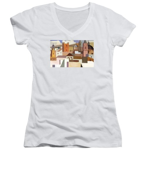 Old Jerusalem Women's V-Neck T-Shirt