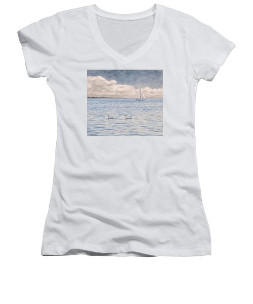 On A Summer's Breeze Women's V-Neck